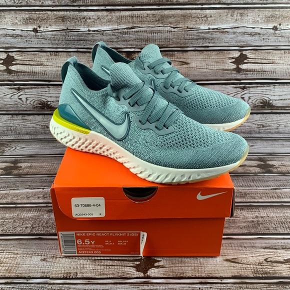 Envío Oscurecer importante  Nike Shoes | New Nike Epic React Flyknit 2 Aq324305 | Poshmark